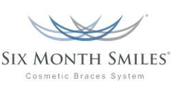 Six months smile logo