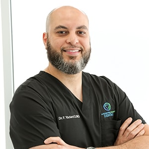 Dr. Fouad Yadani who is the dentist in Manchester at Manchester Advanced Dental